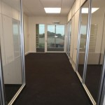 Demountable Glass Partitions