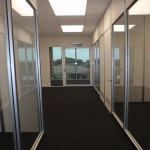 Glass & Plaster Partitions